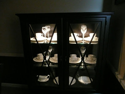 There's a ghost in my china cabinet