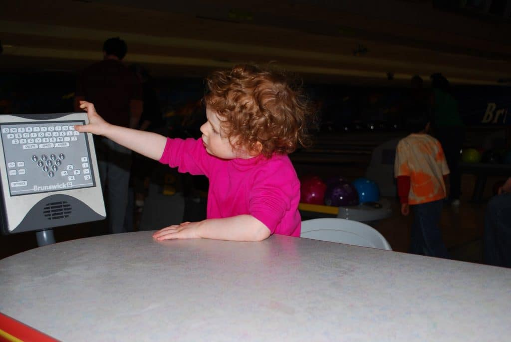 PSF-First trip to the bowling alley