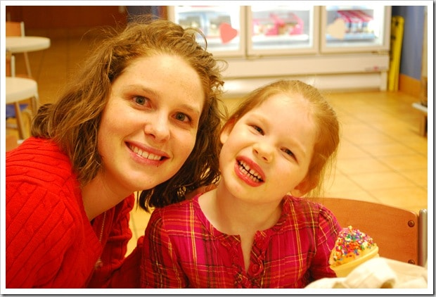 Mommy and Me Monday- Post Recital Celebrations (The 49th edition)