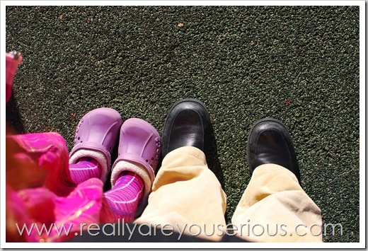 Mommy and Me Monday- Shoes (The 51st Edition)