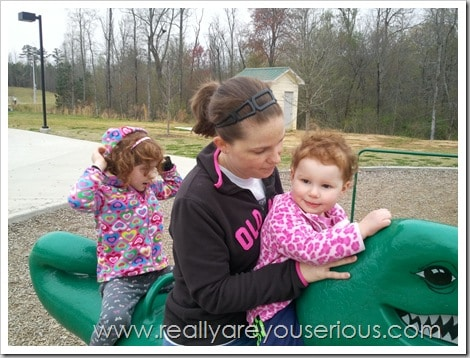 Mommy and Me Monday- Soccer Mom...Delayed