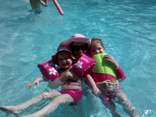Mommy and Me Monday- First pool trip of 2011 (The 67th edition)