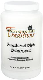 powdered dish detergent