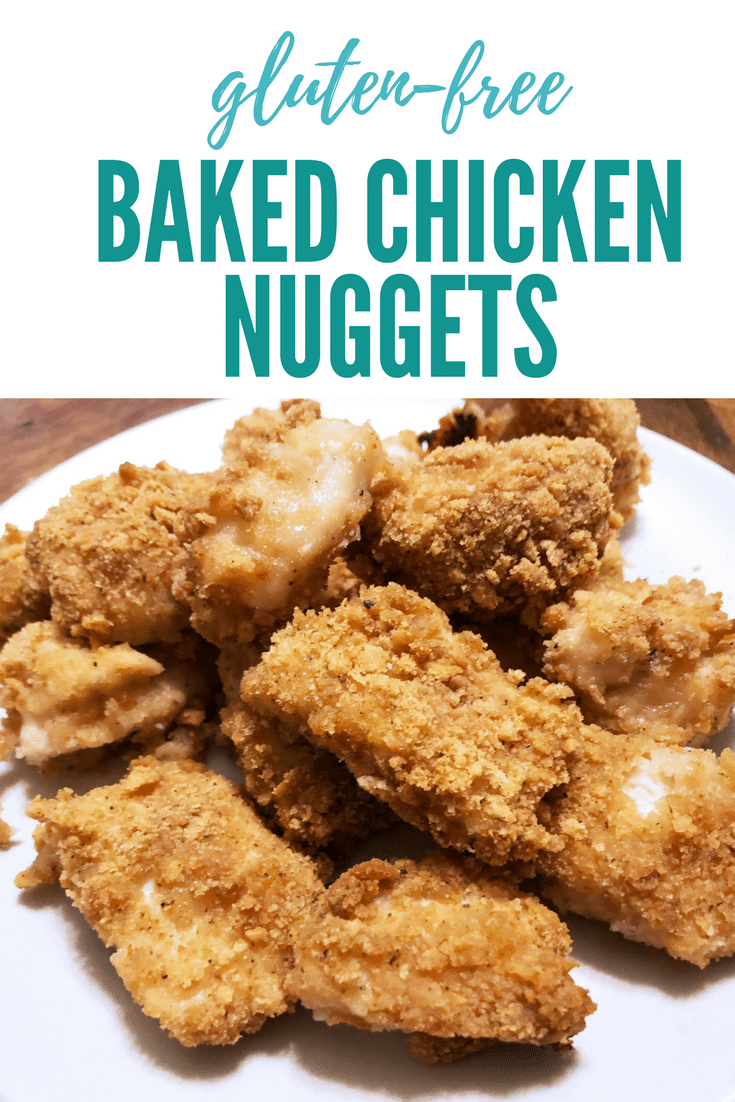 Savory Gluten-Free Baked Chicken Nuggets