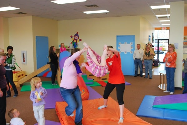 Playing at Gymboree | Mommy and Me Monday (The 91st ed).