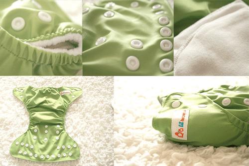 green diaper