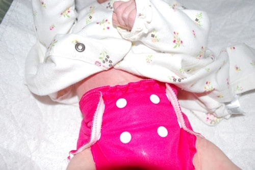 applecheeks Cloth Diaper Little Buddle Review and Giveaway