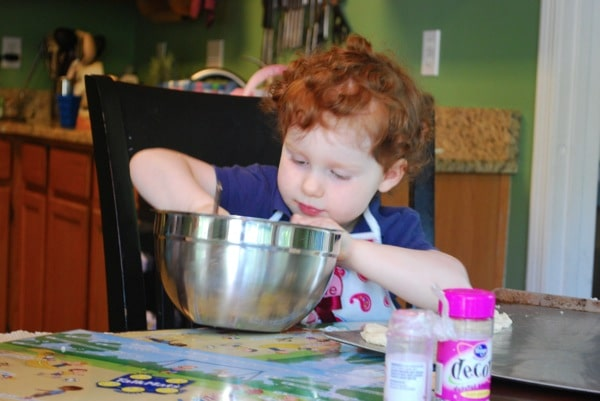 cooking with mommy