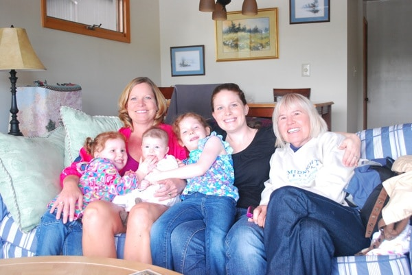 FOUR Generations | Mommy and Me Monday The 121st ed.