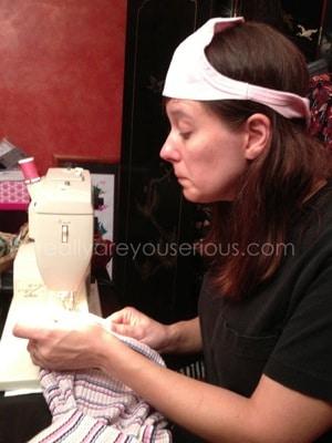 making a onesie into a shirt