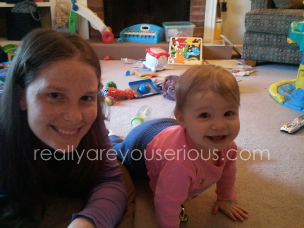 Mommy and Me Monday | Monkey on my Back