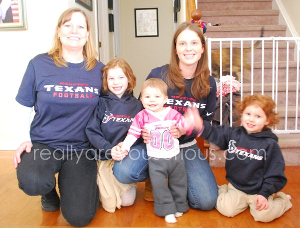 Mommy and Me Monday with the Texans
