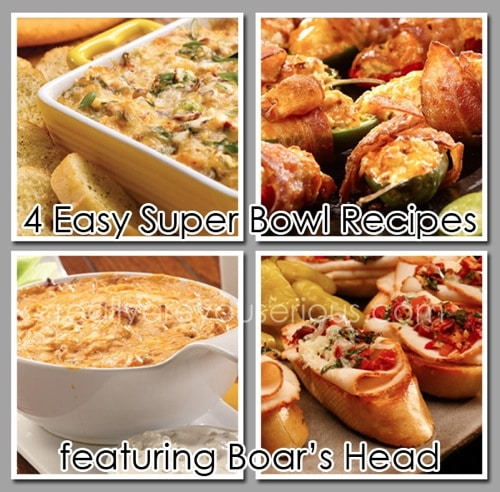 4 Simple and Easy Big Game Recipes