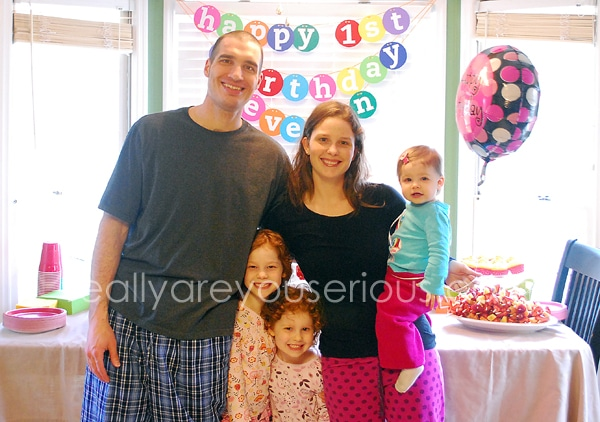 family picture e's birthday mommy and me monday