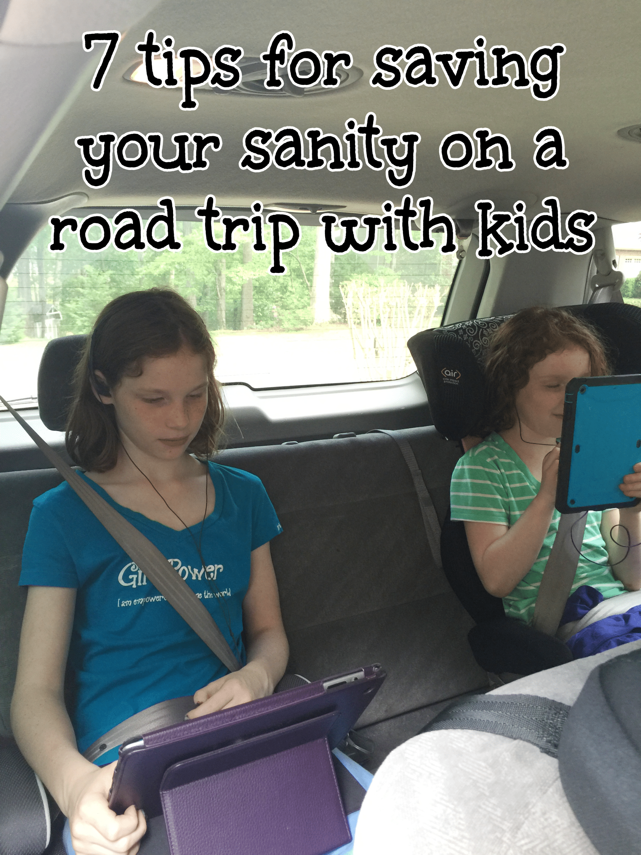 7 tips for saving your sanity on a road trip with kids