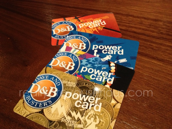 Dave and Buster's Games of Summer