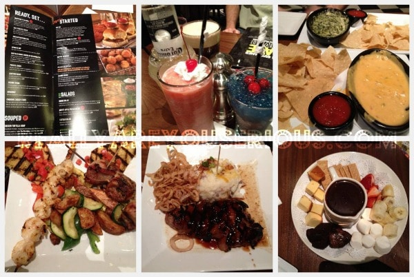 Dave and Buster's Summer of Games Food