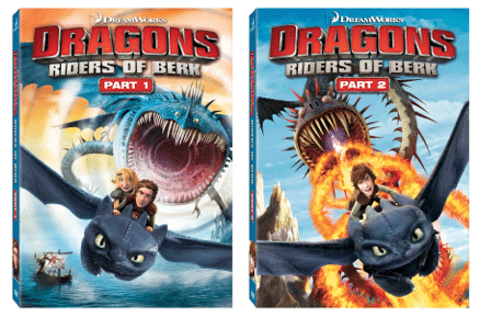 Dragons: Riders of Berk parts 1 and 2 #giveaway