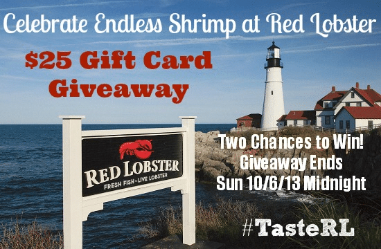Endless Shrimp at Red Lobster + $25 Giftc Card Giveaway