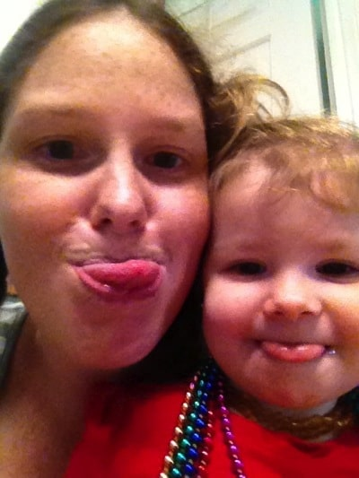 Silly faces with my monkey | Mommy and Me Monday | 188th ed