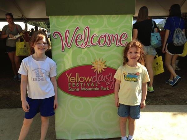Stone Mountain Yellow Daisy Festival