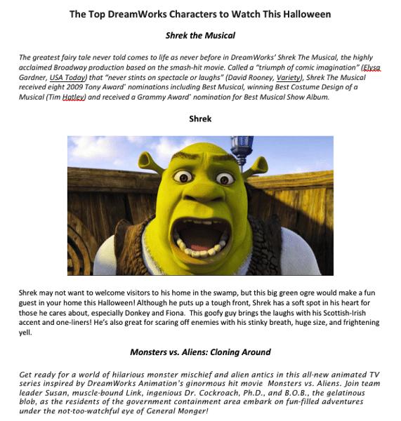 Shrek Musical Giveaway