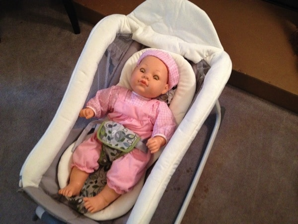 What will you do with 15 minutes?   Graco Little Lounger™