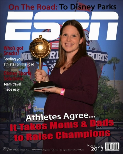 Disney and ESPN WWOS and Mommy and Me Monday