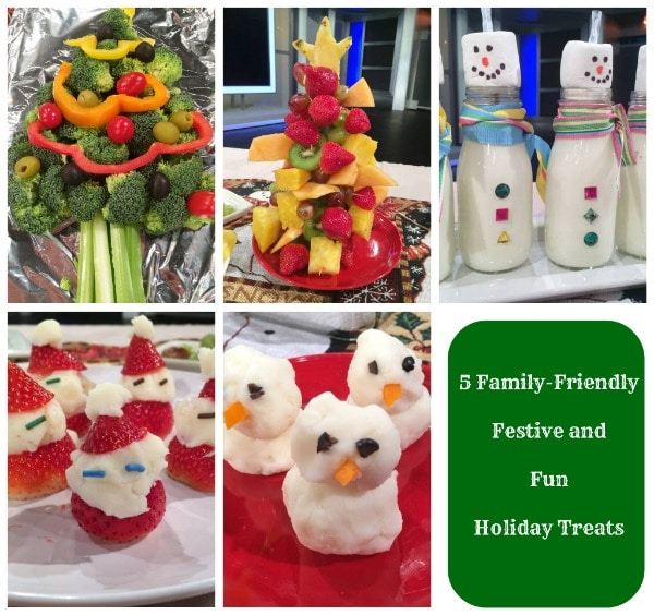 Five Family-Friendly Festive and Fun Treats with a Holiday Twist