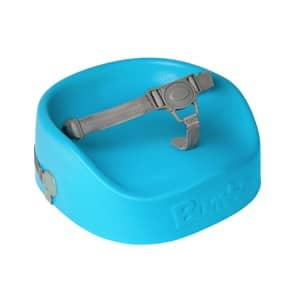 Bumbo Booster Seat Blue Side