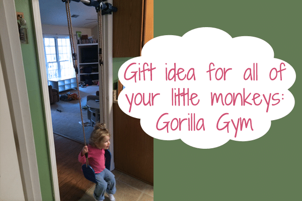 Gorilla Gym Review aka Gym1 Review and Discount Code | Happy girls swinging inside