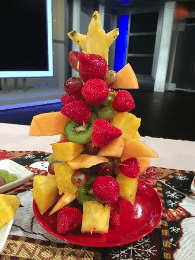 copycat edible arrangements christmas tree