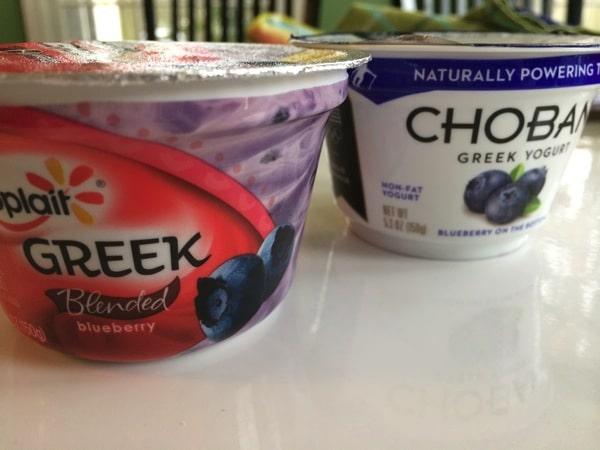 Yoplait Greek vs. Chobani