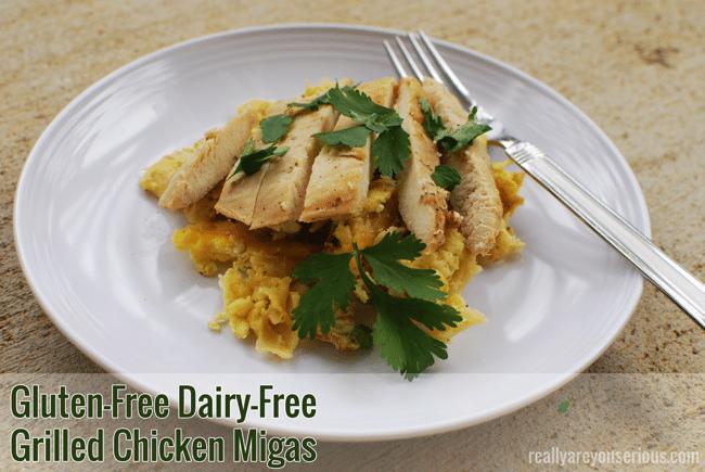 Gluten-Free Dairy-Free Chicken Migas Recipe