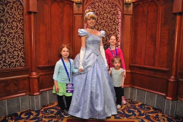 Meeting THE princesses