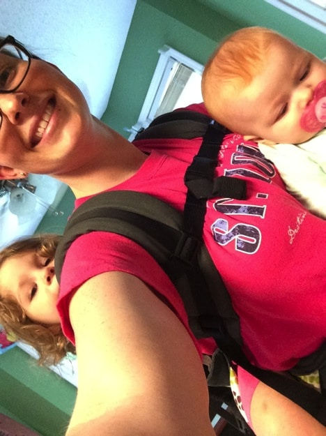 Mommy and Me Monday | Baby Wearing | Toddler Wearing