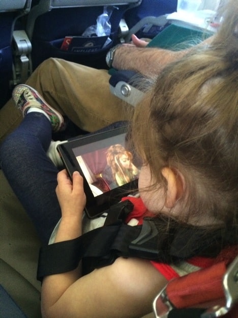 Tips for flying with 4 kids 7 and under