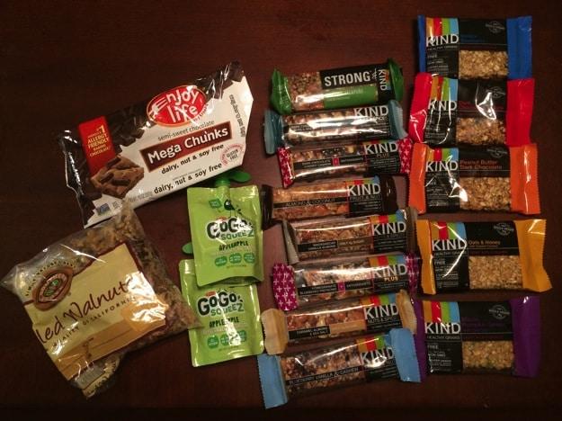 Some of my favorite gluten-free snacks