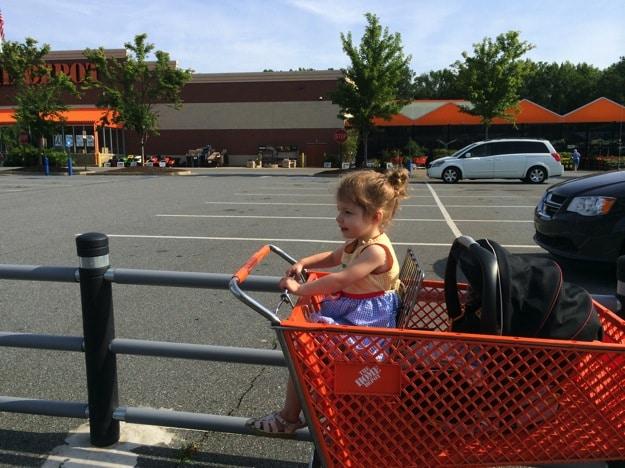The parent parking spot