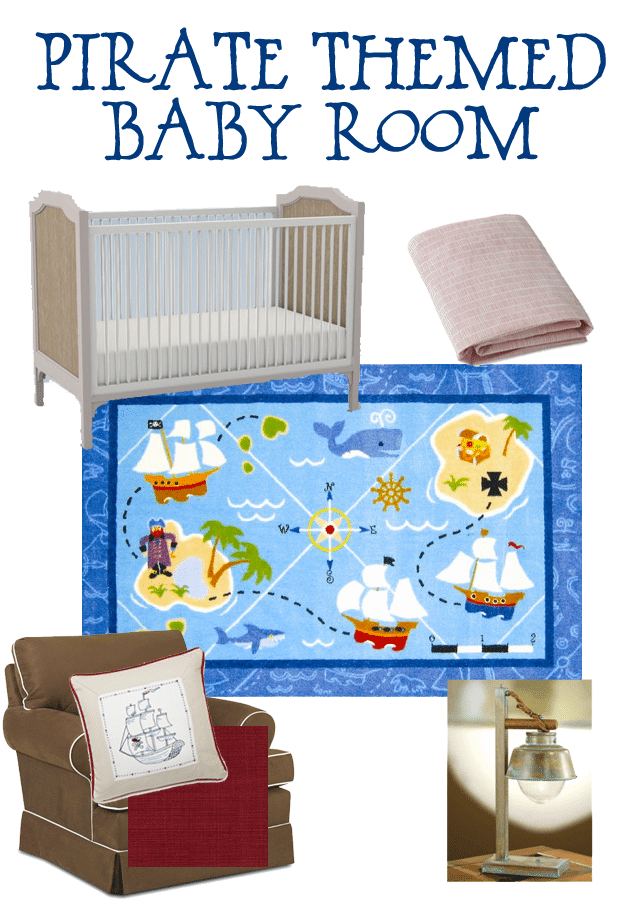 pirate themed baby room