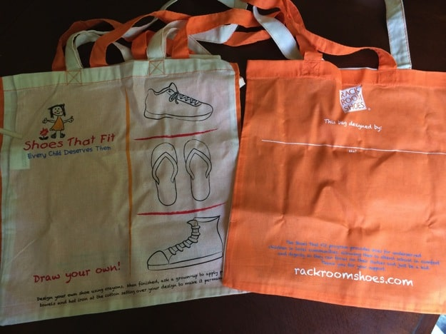 Shoes That Fit Totes for Donations