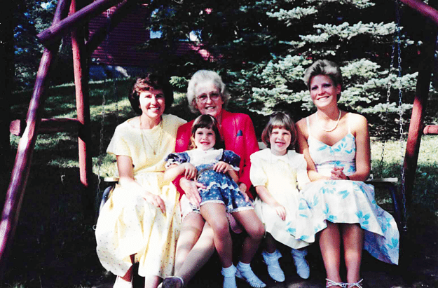 The women in our family tree
