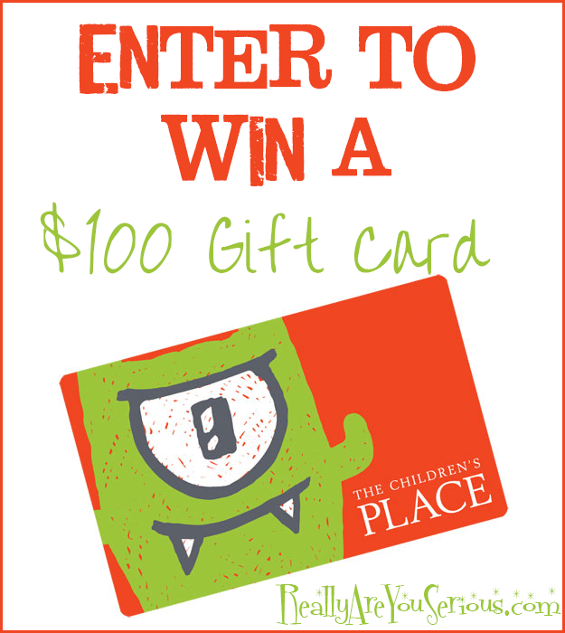 The Children's Place Gift Card Giveaway