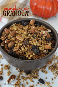 Easy Pumpkin Granola Recipe