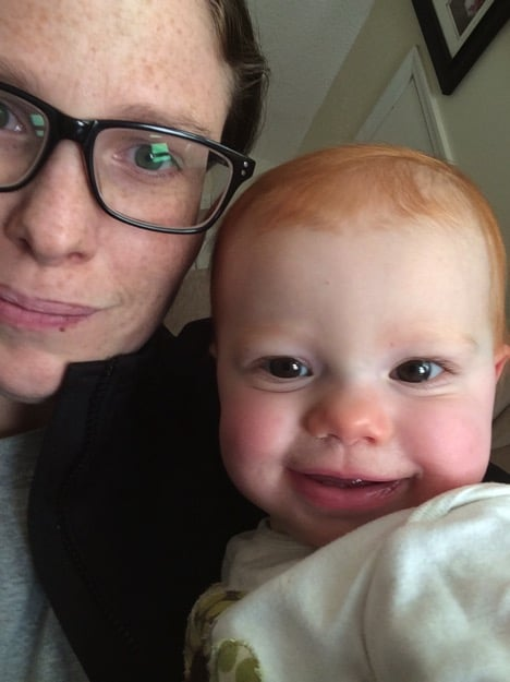 The sickness | Mommy and Me {almost} Monday | 250th ed