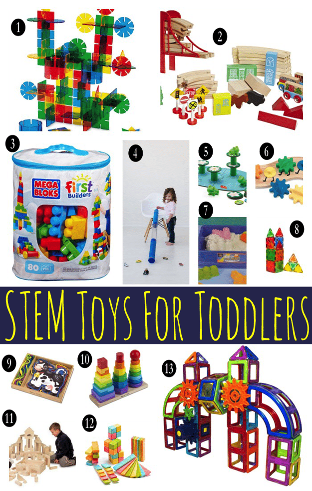 13 STEM Toys for Toddlers