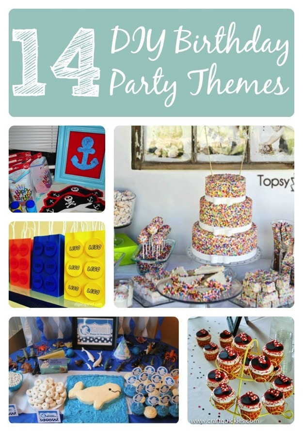 14 Awesome Kid Birthday Party Themes