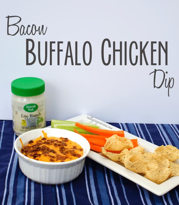 Bacon Buffalo Chicken Dip