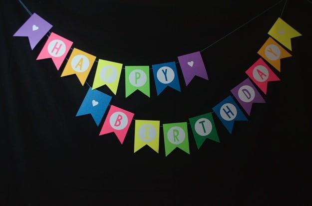 B's first birthday