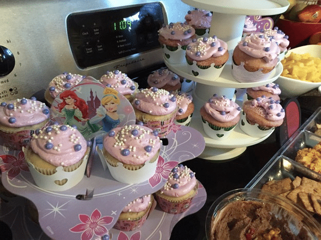 Sofia the First Cupcakes birthday party